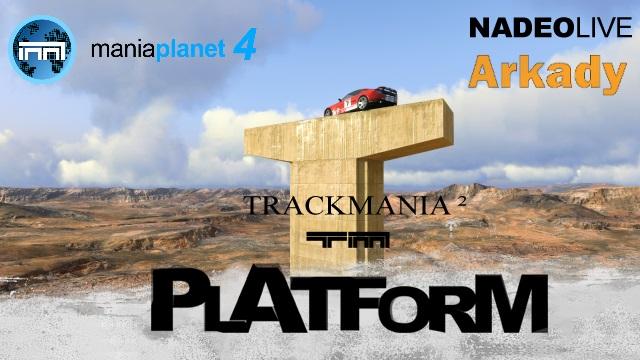 TrackMania 2 Canyon Platform