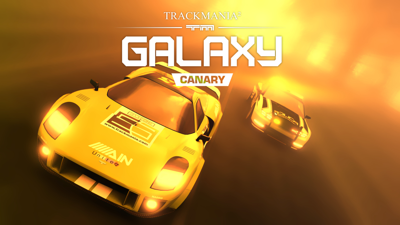 TrackMania² Galaxy (Canary)