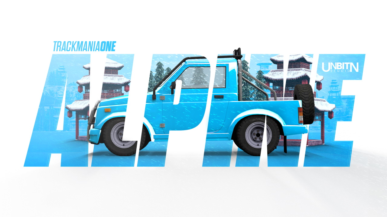TrackMania One - Alpine