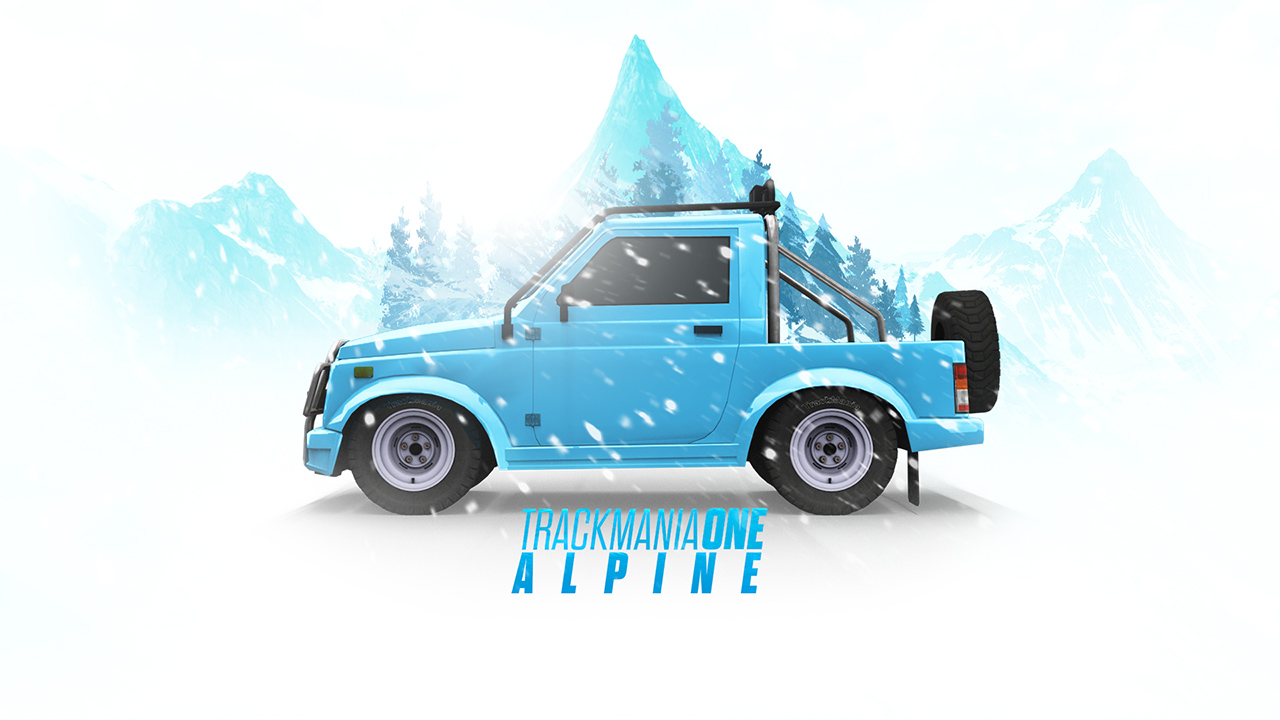 TrackMania One - Alpine