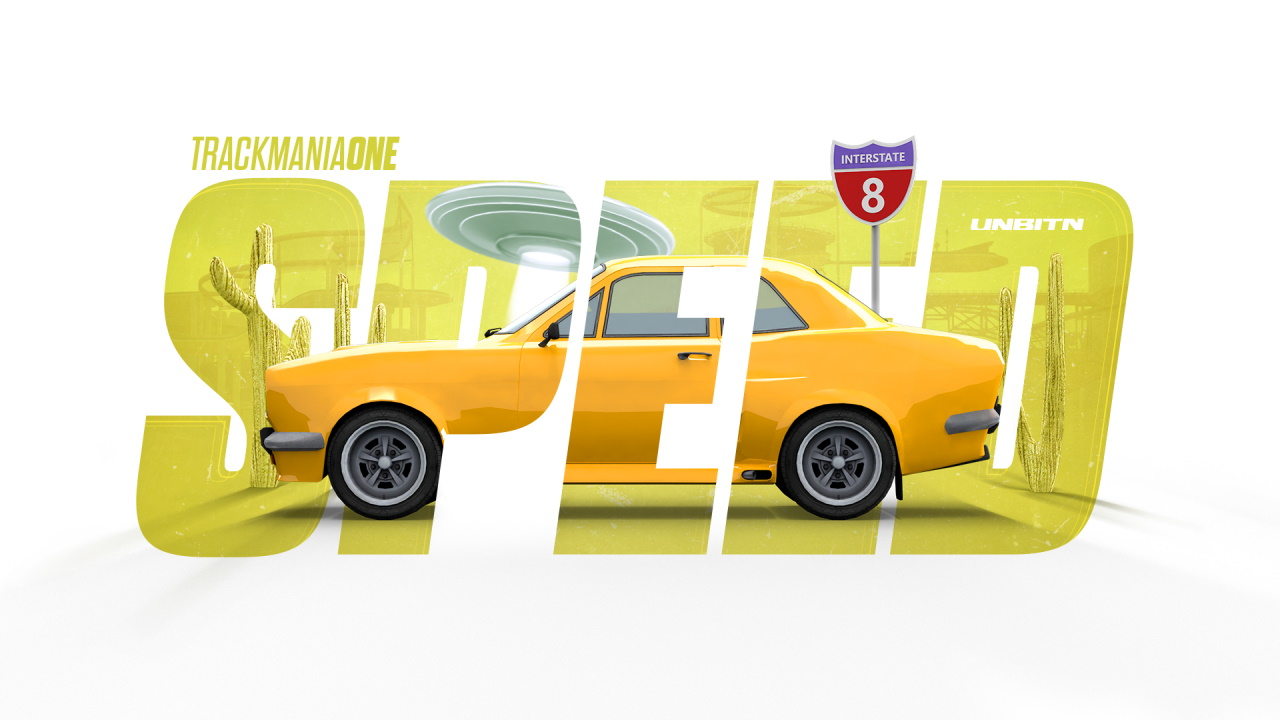 TrackMania One - Speed