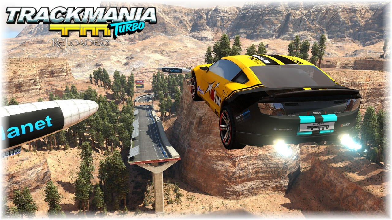 TrackMania Turbo Reloaded Canyon