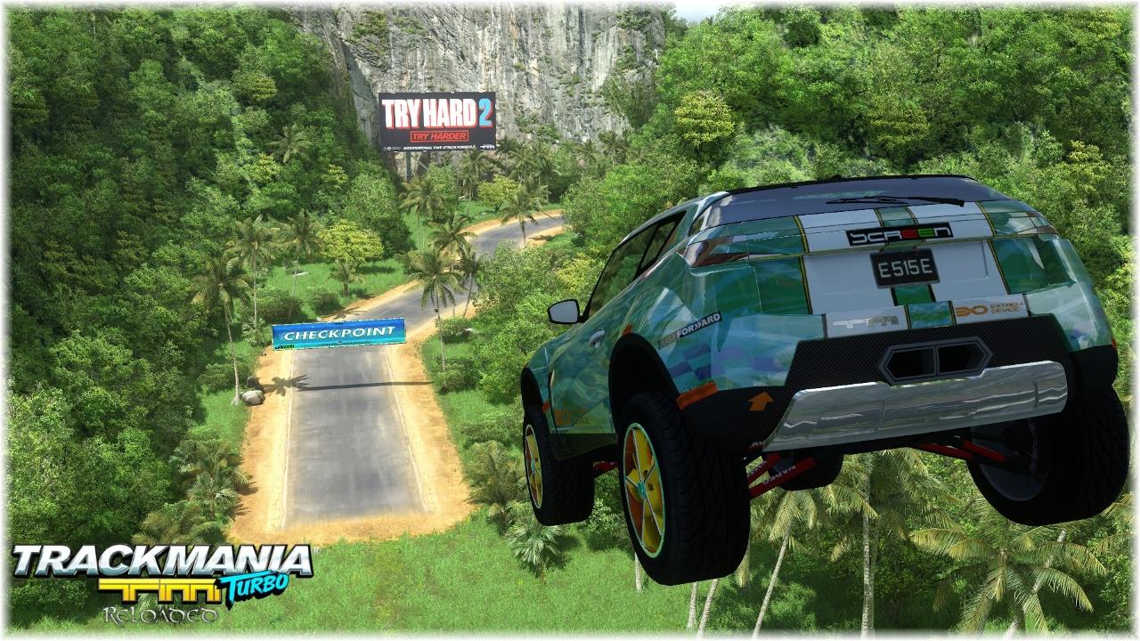 TrackMania Turbo Reloaded Lagoon