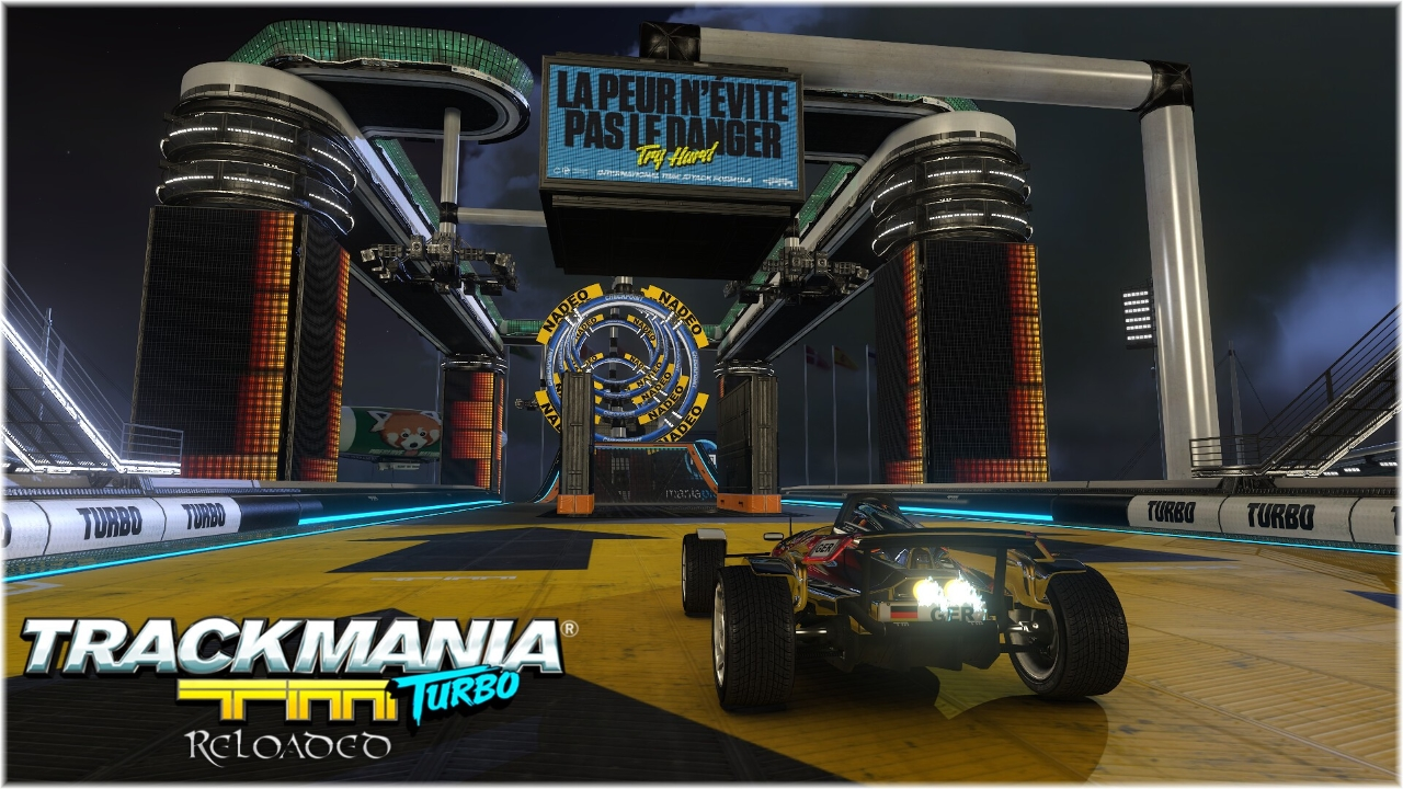 TrackMania Turbo Reloaded Stadium