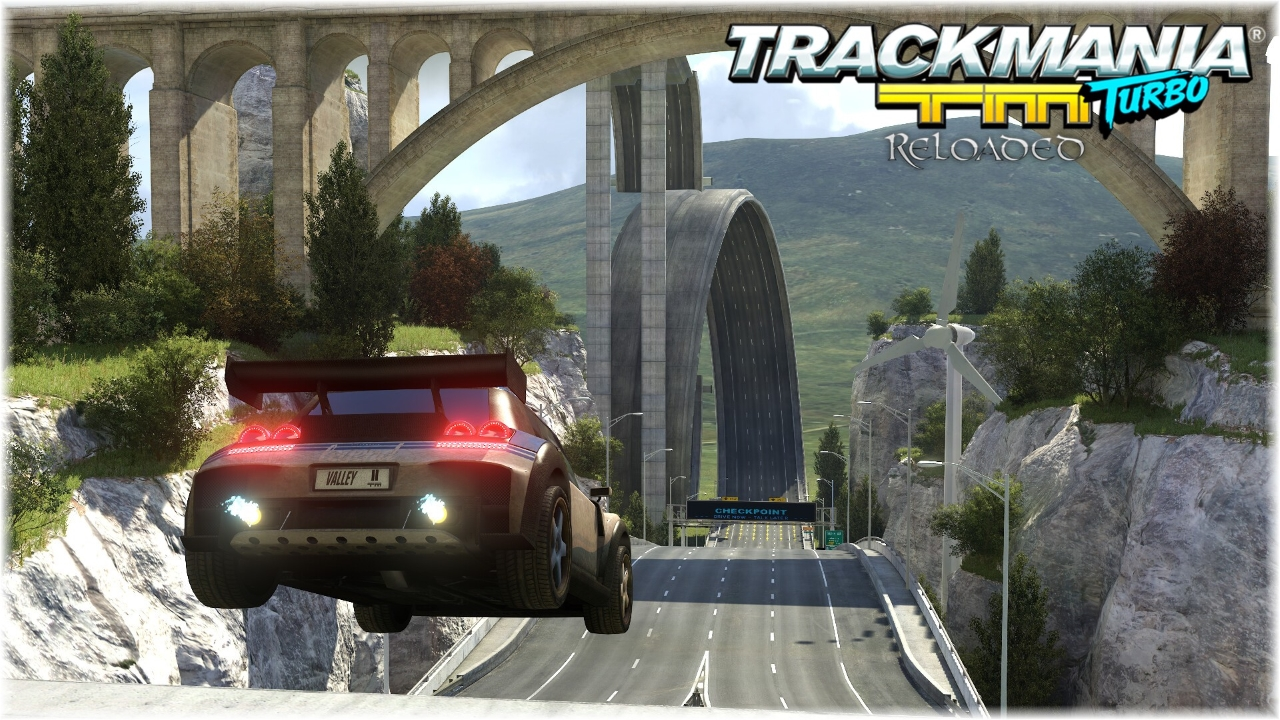 TrackMania Turbo Reloaded Valley